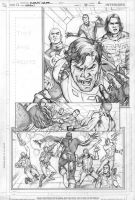 Legion 7 page 1 pencils by Cinar