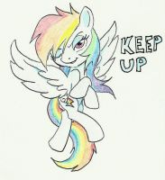 Keep up by joelashimself