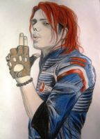 Gerard Way - Party Poison by anniww