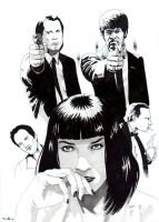 DND Paris : Pulp Fiction by emalterre