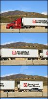Associated Foods Semi Truck by houstonryan