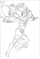 Storm as Wonder Woman Animated by supahboii
