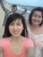 Beach with buddies! Another ID XD by CeruleanHeavens