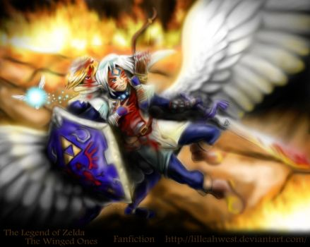 Zelda- Winged Ones- Battle by LilleahWest