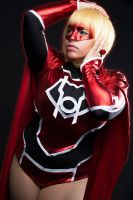 Red Daughter of Krypton, Red Lantern Supergirl by CinVonQuinzel