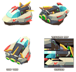 Lowpoly Hover Racer by KennethFejer