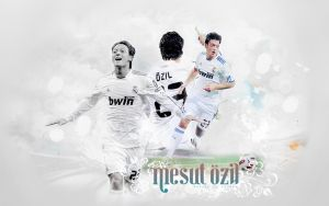 Wallpaper Mesut Ozil3 by shad-designs
