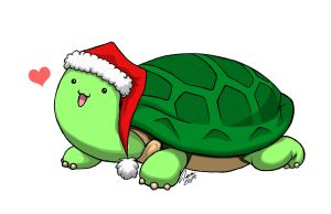 X-mas turtle request by kiteus