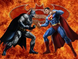 The World's Finest Collide by Superman8193