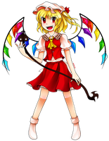 Just Flandre  by aimturein