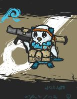 Quick and Dirty Tactical Oshawott by Yoblicnep