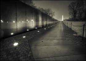 Vietnam Wall HDR by perry