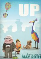 Up Movie Poster by blankearthdesign
