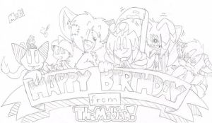 Happy Birthday ShadowFan996!!! by FritzyBeat
