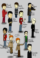 Some Of My Favourite Male Characters by CardiGirl28