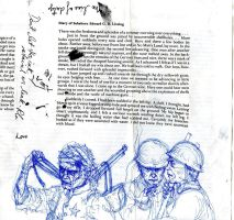 diary of a soldier. by Accolay