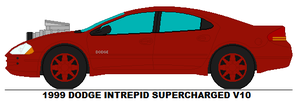 Dodge Intrepid Supercharged V10 by MisterPSYCHOPATH3001