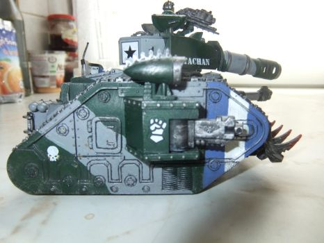 leman russ tank right side by Adeptussolus