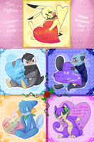 Valentines Day Greetings :: Team Flightless by PikaIsCool