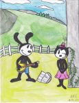 Oswald and Ortensia by Camila-Andromeda