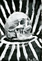 Skull Painting by Xoxorian