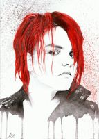 Gerard Way by Zuye