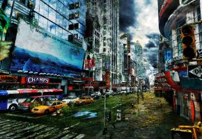 Dead New York II by LuXo-Art
