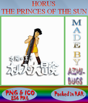 Horus Prince of The Sun - Anime icon by azmi-bugs