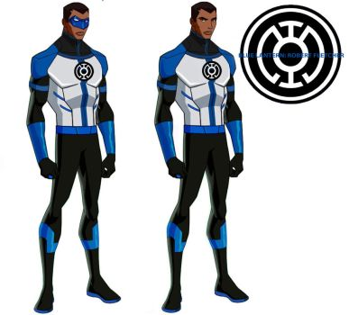 Young Justice Blue Lantern by BlueLantern1