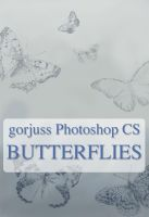 Gorjuss Butterflies by gorjuss-stock