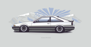nissan s12 vector by depot-hdm