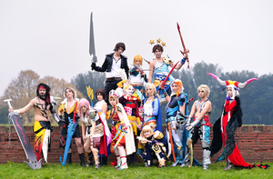 Dissidia Final Fantasy by Jocurryrice