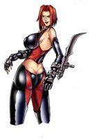 bloodrayne by andreagubrutsky