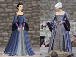 Anne's Execution Gown by LadyAquanine73551