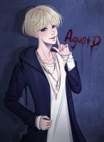 Agust D by Tenshi11-chan