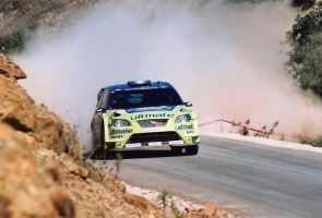 2007, Marcus Gronholm, Ford, Tavira,  Portugal by F1PAM