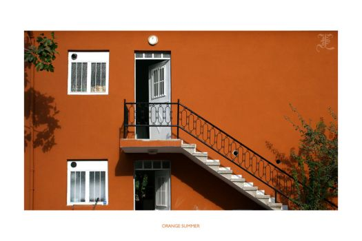 Orange Summer by isilien