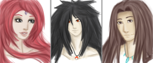 Pre-Konoha's haired beasts by MiKeiLo
