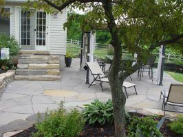 Flagstone Patio Lansdale PA by Devine-Escapes