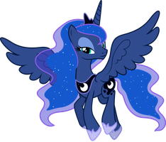 Princess Luna by Shutterflyyay