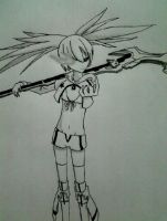 White Rock Shooter by Yoruny