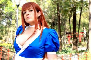 Kasumi Dead or Alive Cosplay by AlexiaDeath10