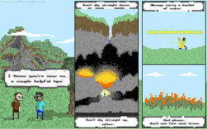 Minecraft Comics Part 2 by bensigas