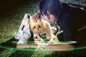 Hide and seek in BTOOOM by Inushio