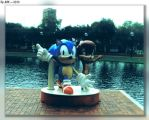 Sonic And Sally (Sega World) by JohnK222