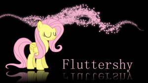 Fluttershy wallpaper V.2 by XVanilla-TwilightX