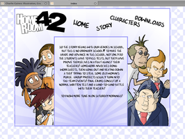 HomeRoom 42 Flash Website 2008 by charliegaines