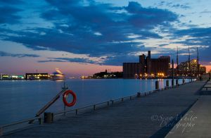Boardwalk at Dusk by 1shotaway