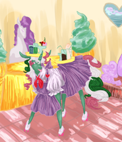 Satin Slipper Sweet shoppe by kicked-in-teeth