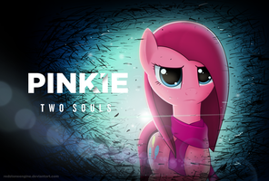 [Mouse painting] Pinkie two souls by redstoneengine